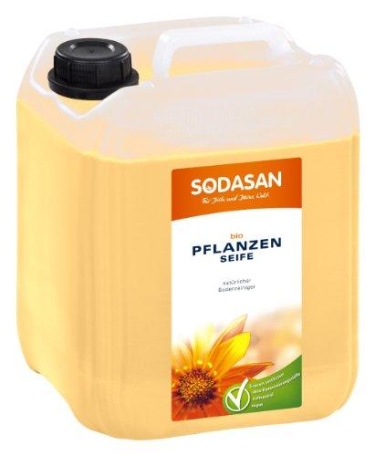 SODASAN Bio Pflanzenseife - natürlicher Bodenreiniger 5 Liter