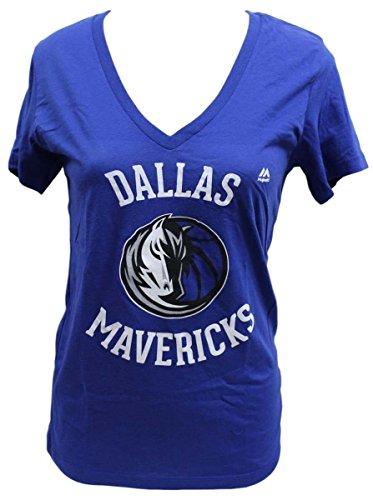 "Dallas Mavericks Women's Majestic NBA ""The Main Thing"" Short Sleeve T-shirt"