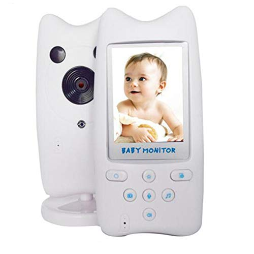 Baby Monitors Moniteur Numérique sans Fil 2,4 Ghz avec Interphone Bidirectionnel 6 Berceuses pour Les Parents Et Les Bébés