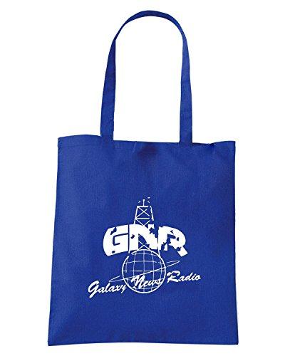 T-Shirtshock - Borsa Shopping TGAM0028 Galaxy News Radio Blu Royal