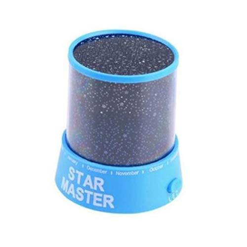 Luce notturna portatile Star Light Proiettore per bambini Camera da letto Starry Night Light Decorazione Miglior regalo di Natale - Blu