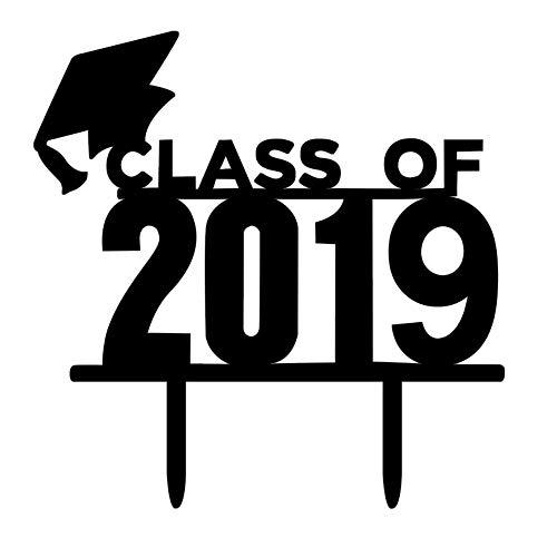 Loozykit Abschlussfeier Kuchen Dekorationen Abschlussfeier Kappe Kuchen Topper 2019 Graduation Decor Graduation Cap Cupcake Doktorhut Kuchen Topper (#3) (Geschenke Graduierung Diy College)