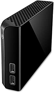 Seagate 10 TB Backup Plus Hub USB 3.0 Desktop 3.5 Inch External Hard Drive for PC and Mac