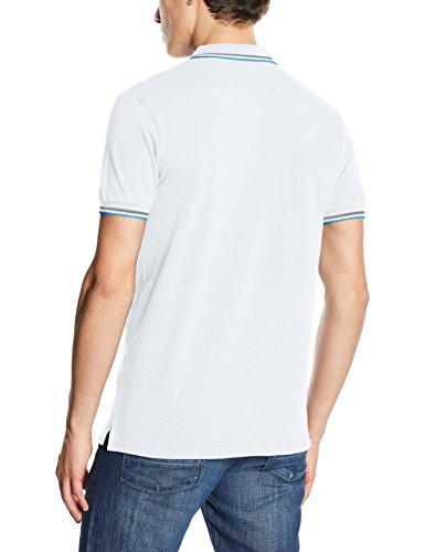 Mick Morrison Herren Poloshirt Weiß (Weiß)