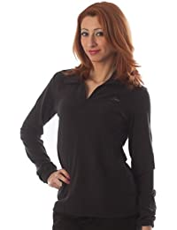 Lotto Sweat Amy Pile M6774 Femme Polaire Half Zip Noir