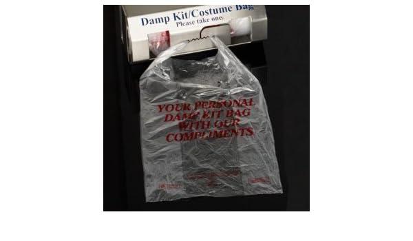 Janilec Damp Kit Bag Plain Refills Pack of 5000