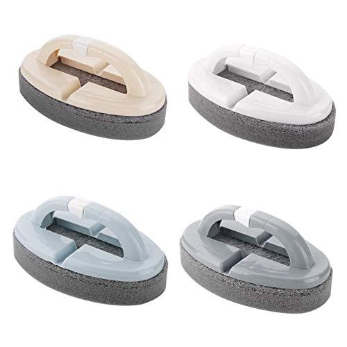 Kunststoff-Badewannenreiniger - Home Handheld-Badewanne Keramikfliesen Glas WC-Bürste Schwamm Reinigungsschwamm mit Griff Schwamm Küchenreinigungsbürsten