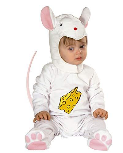Käse Und Maus Kostüm - Horror-Shop Maus Plüsch Baby Kostüm