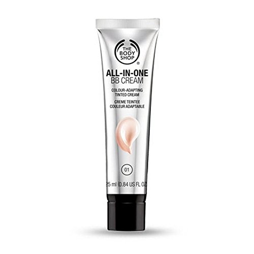 The Body Shop All-In-One Crème Bb 02 Moyennes Des Tons De Peau - 25Ml