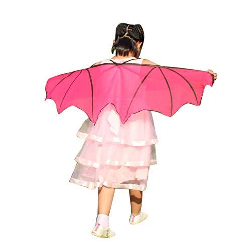 VRTUR Kind Schmetterling Kinder Jungs Mädchen Bohemien Drucken Schal Pashmina Kostüm Zubehörteil Karneval Geschenk Großer ()