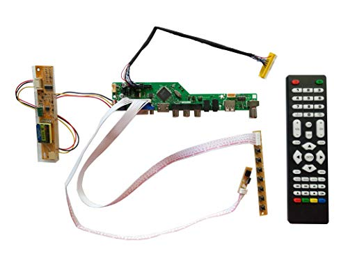 njytouch La. mv9.p HDMI USB AV VGA ATV PC LCD Controller Board, LVDS für B140EW01B140EW01V.01280x 768Panel -