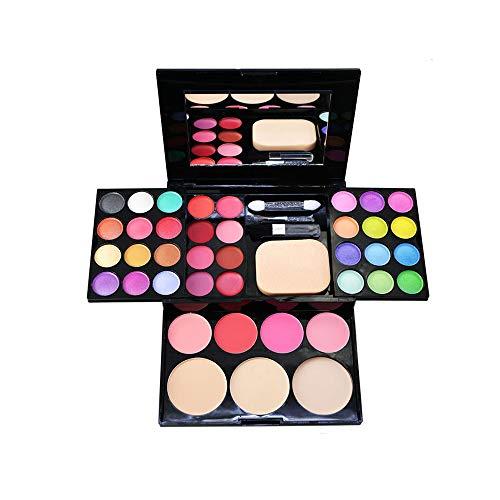 JWR Lidschatten erröten Lippenstift Mascara Palette Mineral Lidschatten-Palette Kosmetik Set