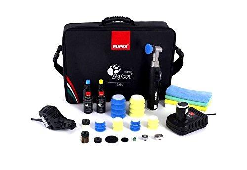 Rupes HR81M/DLX iBrid Nano Poliermaschine Kurzhlals 8cm Deluxe Kit