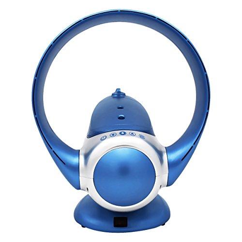 EODO Bladeless fan, Air Multiplier Fan,Tower fan for air humidifier and air purifier (Blue)