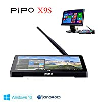 PIPO X9S Mini PC, 8.9' 1920x1200, Windows 10 &Android 5.1 Dual OS, Mini PC, Intel Z8350,Quad Core, 2 GB RAM, 32GB eMMC, Tablet computer, Windows 10 MINI PC (2G/ 32G)
