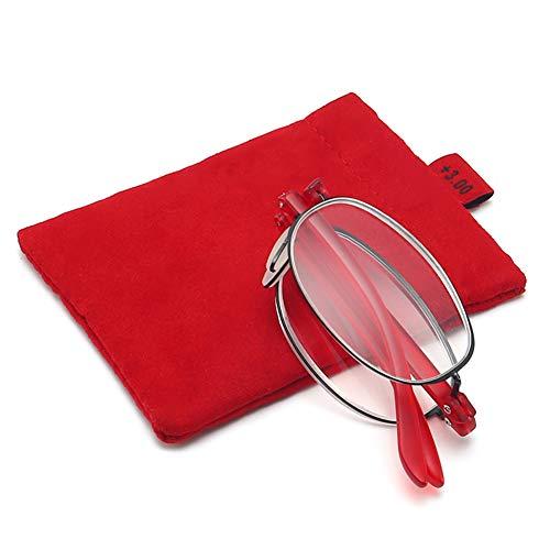 Asudaro Gafas Lectura Plegables Hombres Mujeres Ultraligero