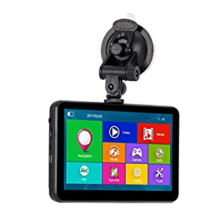 Xgody 884 GPS Navigationssystem für Auto 17,8 cm (7 Zoll) kapazitiver Touchscreen 16 GB ROM, Sat NAV Navigator mit lebenslangen Karten-Updates