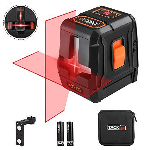 Nivel láser tacklife sc-l07avanzada Cruz rojo 20m/2fuentes de láser/Línea...