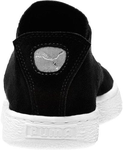 Puma - - Herren Suede Classic Schuhe Deconstruct Black