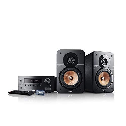 Teufel Ultima 20 Kombo Schwarz Stereo Lautsprecher Musik Sound Hochtöner Mitteltöner Bass Speaker High End HiFi Tieftöner Schalldruck Soundanlage