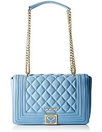 Love Moschino - Moschino, Shoppers y bolsos de hombro Mujer, Blau (Avio), 7x17x30 cm (B x H T)