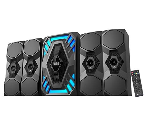 Compium Zebronics Future-BT RUCF 4.1 Channel Multimedia Speakers (Black)