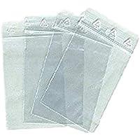 fermeture /éclair rapide verschuss 100/Sacs /à fermeture /à pression 60/x 80/mm//50ɥm QuickSafe Zip Sachets Pochette Sachet Plastique PE LD sachets