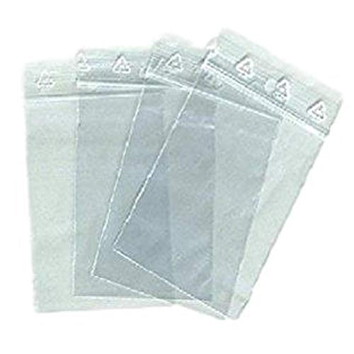 1000 zip Beutel 40 x 60 mm-Verschluss-Taschen RV 4 x 6 cm Verschluss EWG Standard konsistent alimentairet Einfrieren Snap
