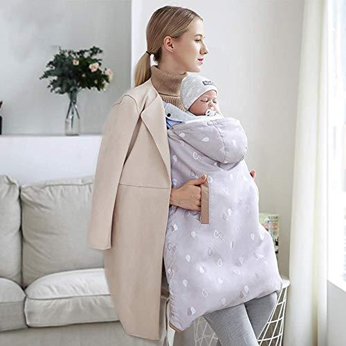 ee97078d5604 Couverture Porte-bébé Poussette,Cape de Sangle pour Nourrissons et Enfants,  Couverture épaisse