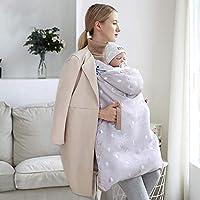 7374b610ede2 Couverture Porte-bébé Poussette,Cape de Sangle pour Nourrissons et Enfants,  Couverture épaisse