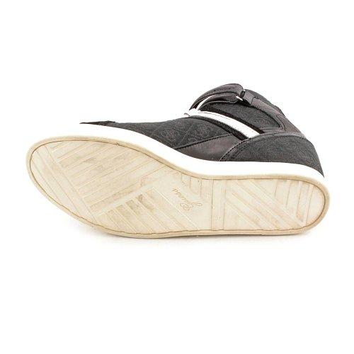 Guess Perina Femmes Toile Baskets Black