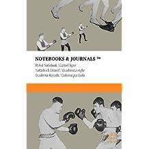 Carnet Ligné A5 Notebooks & Journals, Boxe (Collection Vintage), Large: Couverture souple (13.97 x 21.59 cm)(Carnet de Notes, Carnet de Voyage, Cahier de Texte)