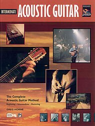 ALFRED PUBLISHING HORNE GREG - INTERMEDIATE ACOUSTIC GUITAR + CD - GUITAR Theorie und Pedagogik Akustikgitarren