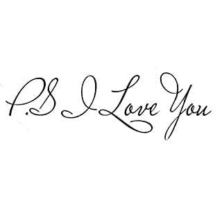 Lalang P.S I Love You Wall Sticker