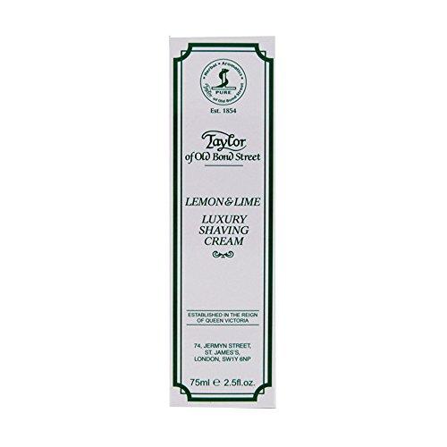 Lemon Lime Shaving Cream (TAYLOR OF OLD BOND STREET Rasiercreme in Tube Zitrone und Limette, 75 ml)