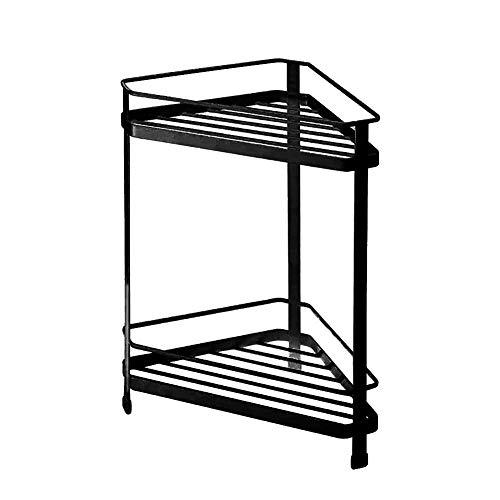 Doppelregal Multifunktions-modernes minimalistisches Regal Home Küche Gewürz-Badregale Badzubehör Lagerregal Duschregal Kein Bohren 2239cm