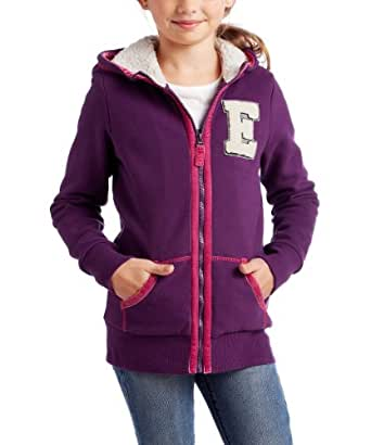 Esprit - sweat-shirt  capuche - fille - Violet - FR : 11 ans (Taille Fabricant : S)