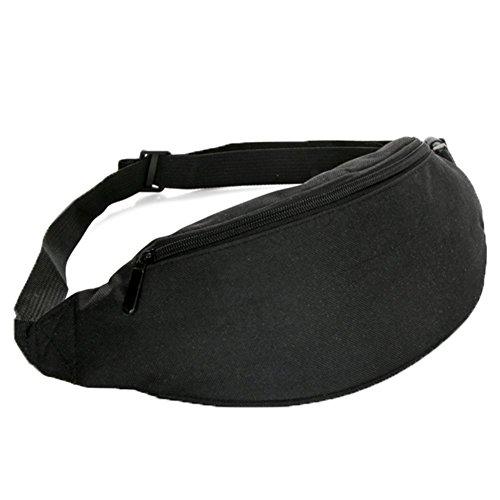 Ohmais Rücksack Rucksäcke Rucksack Beutel Schultasche Banane Leinwand für junge éudients Schülerin schwarz