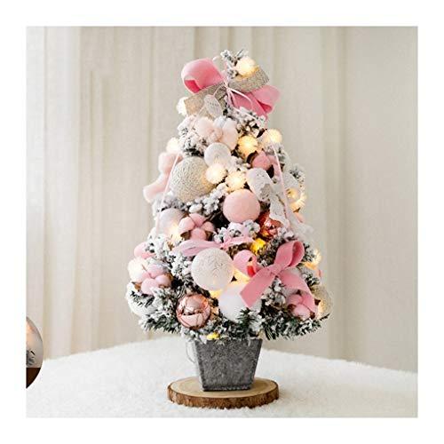 WUFANGFF Weihnachtsbaum Home Schlafzimmer Schreibtisch Dekoration Spielzeug Puppe Geschenk Office Home Kinder Christbaumschmuck Partei Liefert (60 cm), ()