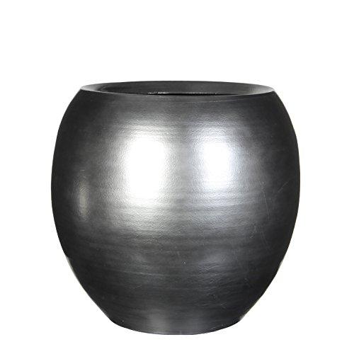 Mica decorations 300983 Topf, Vera, silber Platin Vase