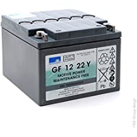 Sonnenschein - Batería plomo sellada gel GF12022YF Gel 12V 22Ah G5