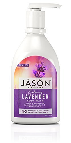 Jason Body Care Pure Natural Body Wash, Calming Lavender 885 ml by Jason Natural