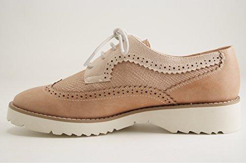 Karston, Beige Femme Chaussures À Lacets