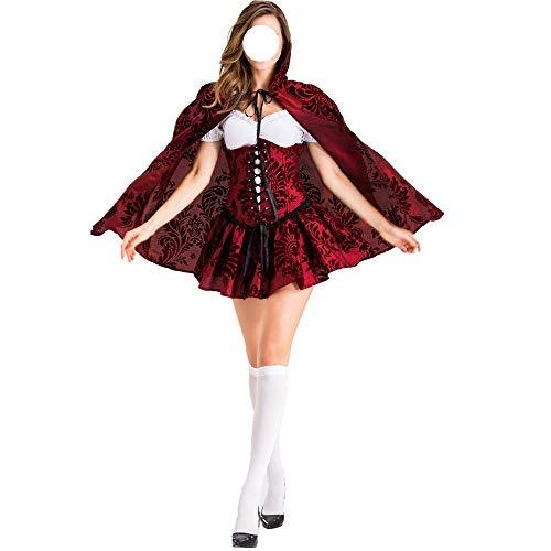 LINSID-Weihnachten Weihnachtsmann Kostüm Cosplay Kostüm Erwachsene Anzüge Cosplay Outfits Männer Kostüm Anzug Für Erwachsene Plus Größe Männer Frauen L