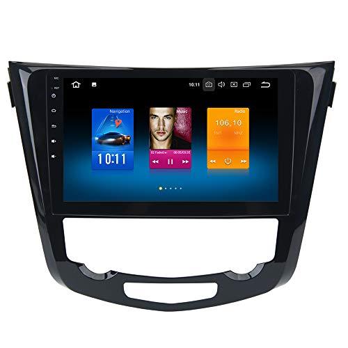 "dasaita 10.2\"" Android 8.0 1 Din Autoradio Bluetooth Coche Manos Libres para Nissan X-Trail Qashqai j11 Rouge 2014 a 2018 Radio Coche Pantalla Tactil Apoyo WiFi DAB+ GPS Carplay Cámaras de Marcha Atrás"
