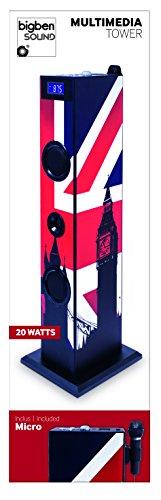 BigBen Tour Multimédia Haut-parleur USB Union Jack