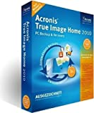 Acronis True Image Home 2010, DVD-ROM PC Backup& Recovery. Schützen SIe Ihren kompletten PC!. Für Windows XP SP3/Vista SP2/7