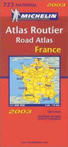 Carte routière : France, N° 11723 (format atlas)