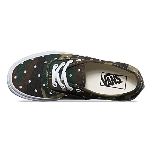 Vans Unisex-Erwachsene Authentic Low-Top (camo polka dot