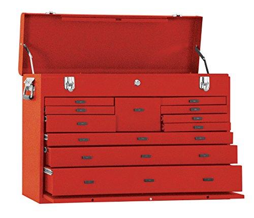 Kennedy Verarbeitung 52611r 68,6cm 11-drawer Maschinisten 'Brust, industrieller rot